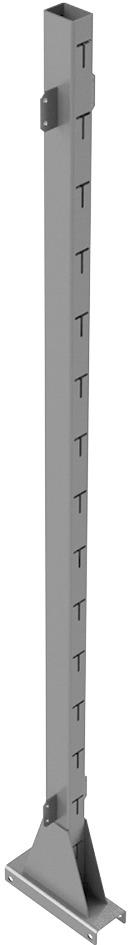Freistellsäule doppelseitig für STECK Regalsysteme