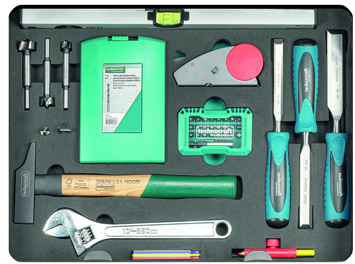 Werkzeugkoffer PRO WOOD 4