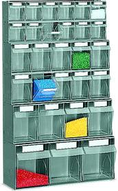 Wandregal-Behältersystem PRACTIBOX