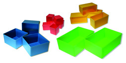 Einsatzboxen zu Sortimentskoffer EcoSystem