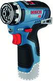 Akku 2-Gang Bohrschrauber BOSCH Click + Go GSR 12 V-35 FC FlexiClick Solo