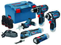 Professional Set BOSCH 12 V
