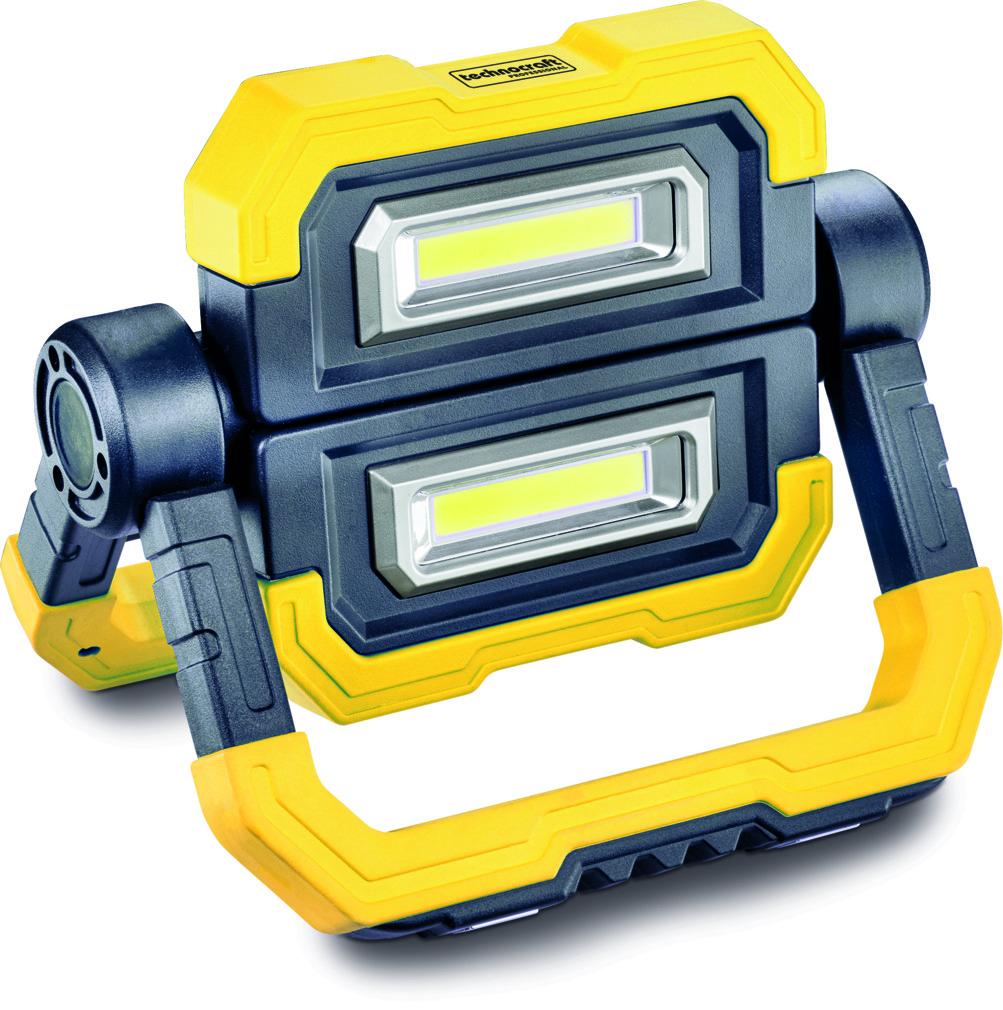 Akku LED Scheinwerfer TECHNOCRAFT FOLD