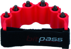 Bithalter magnetisch BITPASS rot inkl. 6 Bits