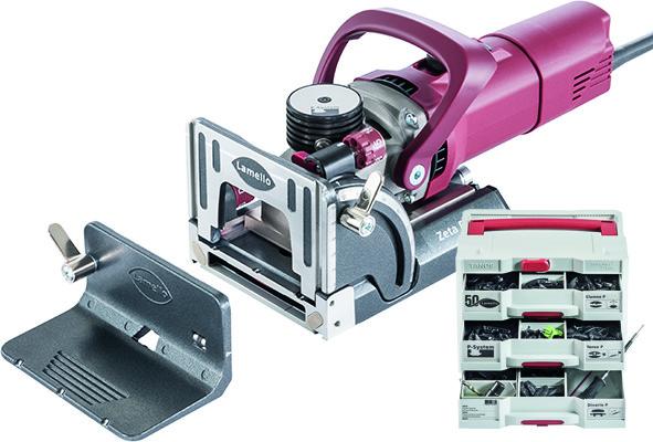 Nutfräsmaschine LAMELLO ZETA P2 Dia Professional Set