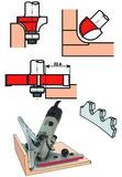 Wandhohlkehlen-Set Expert mit Fräsmaschine AK-8