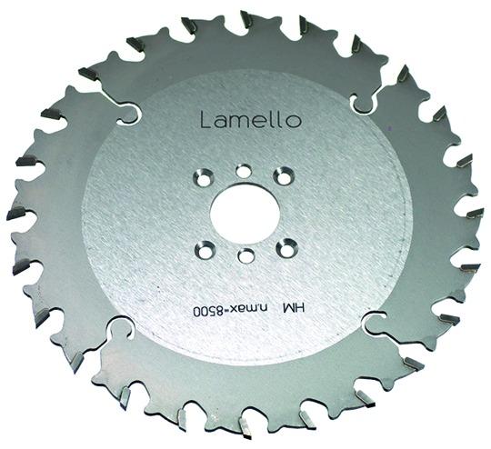 Kreissägeblätter LAMELLO, HM-bestückt