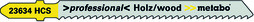 Stichsägeblatt METABO 23634 (T 101 B)
