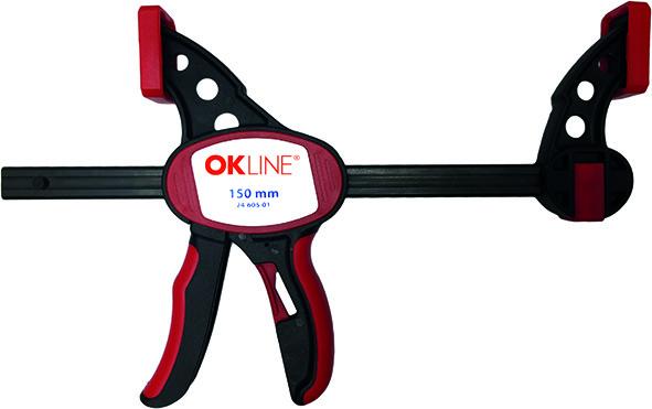 Einhand-Schnellzwingen OK-LINE