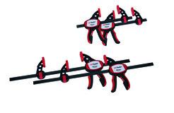 Einhand-Schnellzwingenset OK-LINE 4-teilig