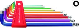 Winkel-Stiftschlüsselsatz PB SWISS TOOLS 212 L H-10 RB