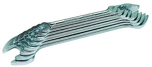 Doppelgabelschlüsselsatz STAHLWILLE