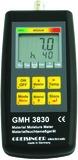 Resistives Materialfeuchte- und Temperaturmessgerät GREISINGER GMH 3831
