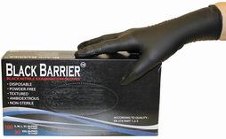 Nitril-Einweghandschuhe Black Barrier