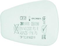 Einlege-Filter 3M 5935 / P3R zu Atemschutzmaske