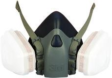 Gase- und Dämpfe-Atemschutzmasken-Set 3M Typ 7523L
