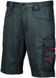 Arbeitsshorts U-POWER Party black carbon