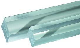 Plexiglas-Vierkantstäbe GS