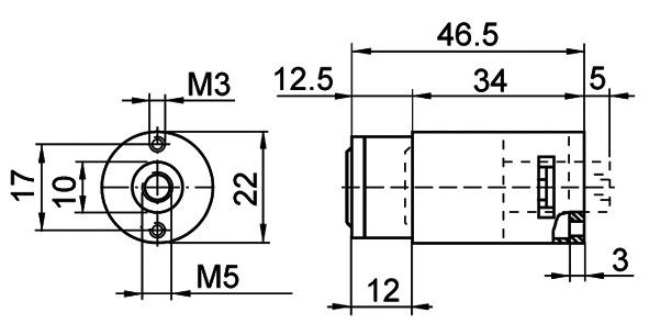 Druckzylinder KABA 8 Typ 1064