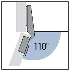Schnellmontage-Topfbänder HETTICH Intermat