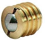 Kugelschnäpper, zum Eindrehen, mit Gegenplatte