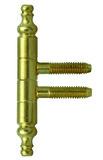 Einbohrbänder mit Zierkopf (CH-Norm)