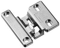 Einachsbänder PRÄMETA Dünntür-Flachband, Türauflage 3.5 mm, Eckband, Rolle mittig