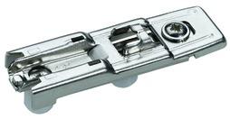 Linearmontageplatten HETTICH Sensys/Intermat 8099, Eckmontage, zum Einpressen