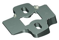 Winkeladapter für Kreuzmontageplatten HETTICH