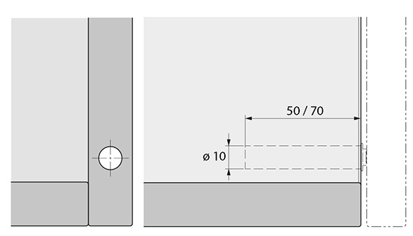 Push-to-open Pin HETTICH