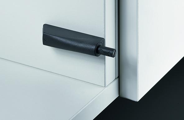 Push-to-open Magnet zum Anschrauben HETTICH