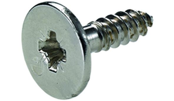 Gegenplatte HETTICH für Push-to-open Magnet, zum Anschrauben