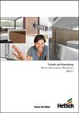 Katalog HETTICH Technik und Anwendung - Band 1