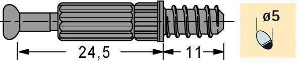 Einschraubdübel HETTICH Twister DU 262