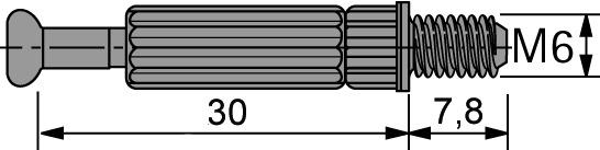 Einschraubdübel HETTICH Twister DU 644