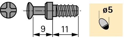 Einschraubdübel DU 327