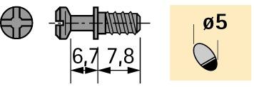 Einschraubdübel DU 322