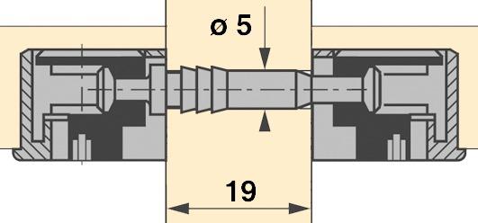 Doppeldübel DU 712 / DU 867