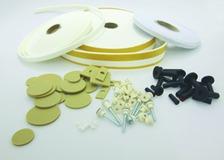 Montagematerial für schalldämmende Küchenmontage nach SIA-Norm 181