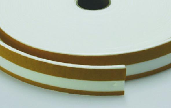 Schallschutz PE-Kantenband geschlitzt STAUFFER