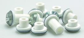 Schallschutz Gummitülle mit Senkscheibe STAUFFER