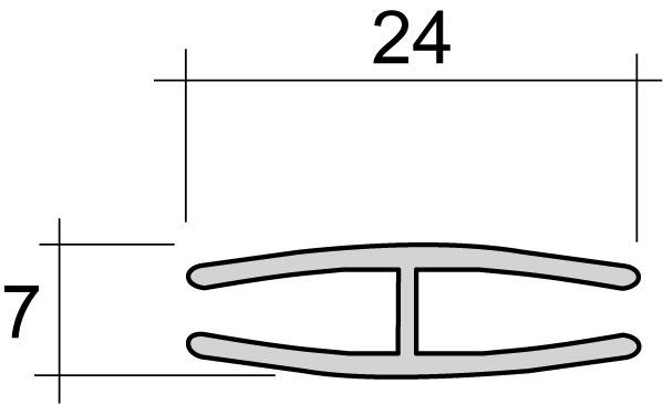 Rückwand-Verbindungsprofil