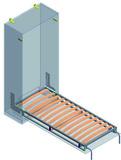Schrankbettsystem Einzelbett längs Dynamic