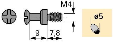 Einschraubdübel DU 427