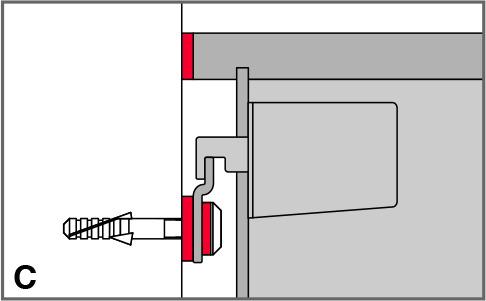 Schallschutz Gummitülle mit U-Scheibe STAUFFER