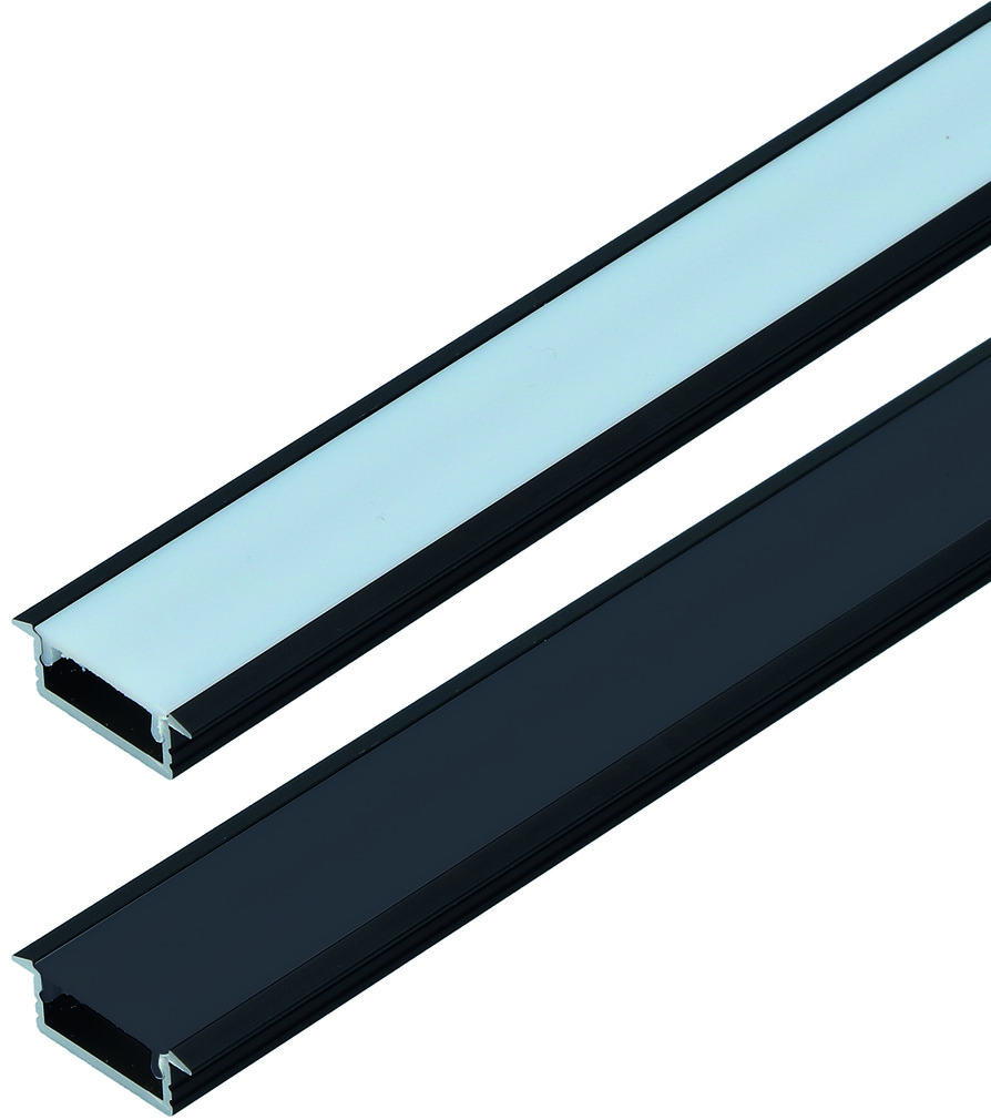 LED Einbauprofile ChannelLine C mit Lichtblende
