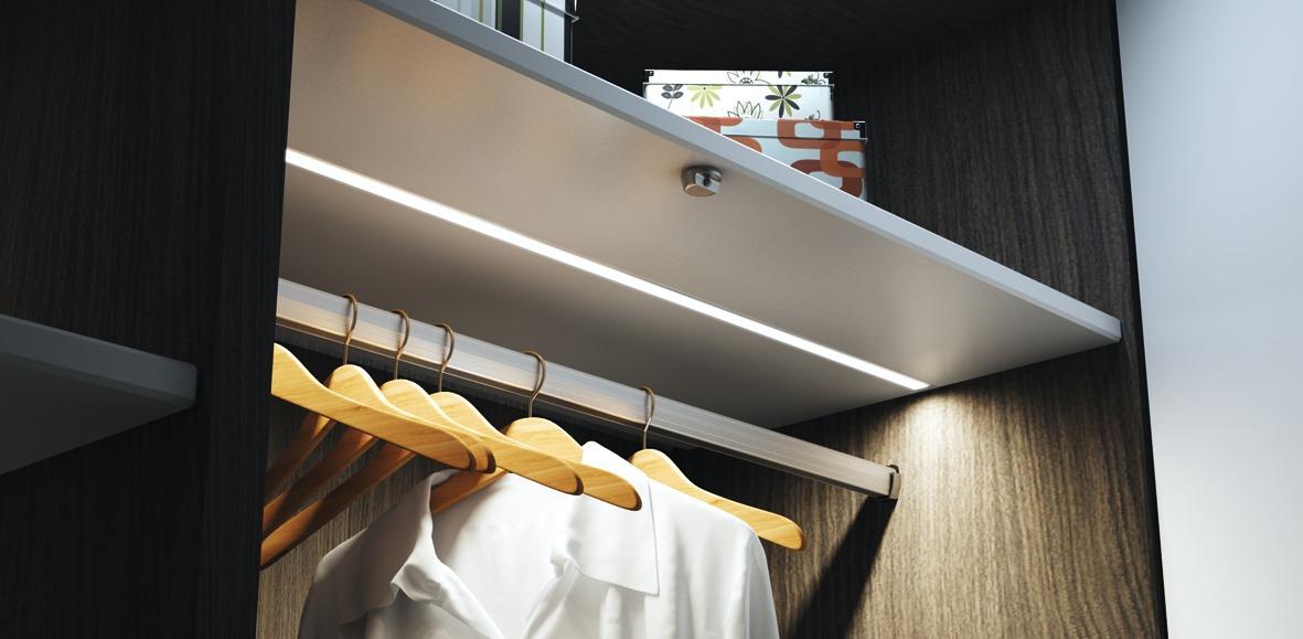 LED Einbauprofile HALEMEIER Versa ChannelLine C mit Lichtblende