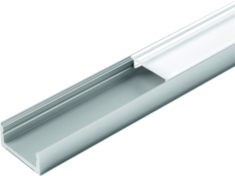 LED Ein-/Anbauprofile HALEMEIER ChannelLine D mit Lichtblende