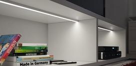 LED Anbauprofile HALEMEIER ChannelLine D mit Lichtblende