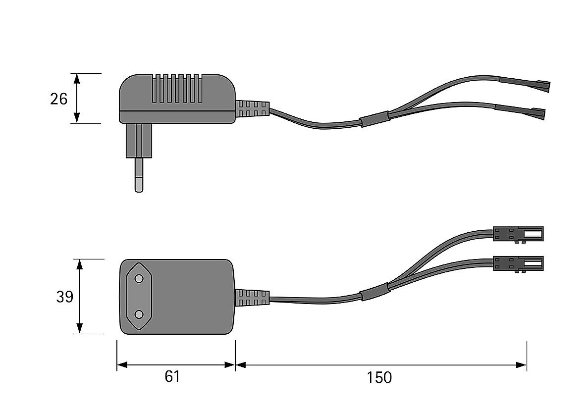 Steckernetzteile HALEMEIER 12 V